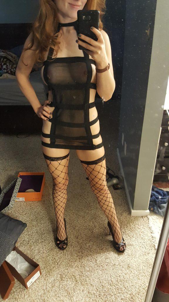 Amateur slutty outfit